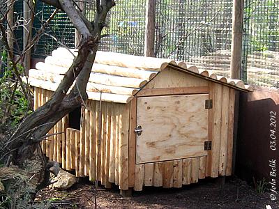 Haus Rote Pandas