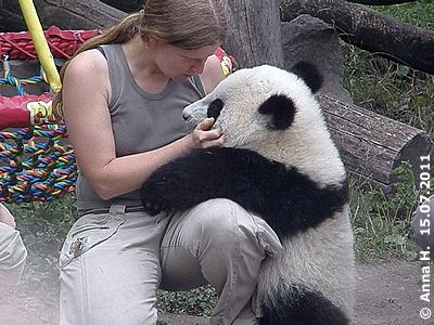 Fu Hu und Renate, 15. Juli 2011