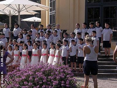 Chinesischer Kinderchor, 23. August 2011