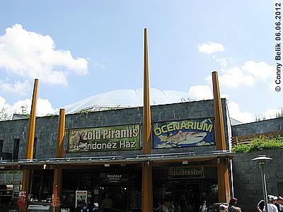 Grüne Pyramide und Ócenárium, Sóstó Zoo, 6. Juni 2012