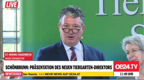 NEuer DIrektor Tiergarten Schönbrunn