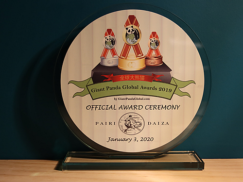 Pairi Daiza Host Award Ceremony 2020 01 03