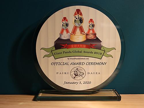 Pairi Daiza Host Award Ceremony 2020 01 03