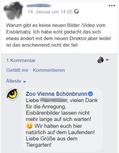 TGS Antwort auf Facebook