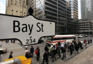 The Bay Street Corridor is at the centre of the city.