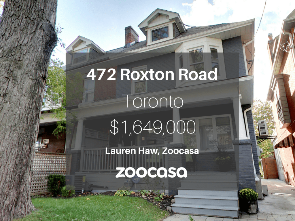 472 Roxton Road is for sale.