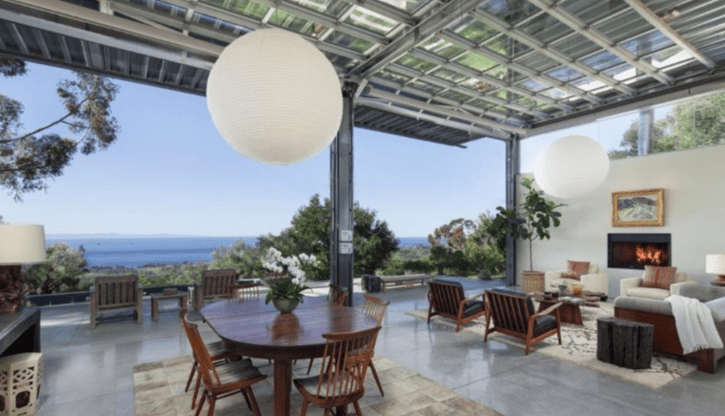 Natalie Portman bought this modern Montecito home
