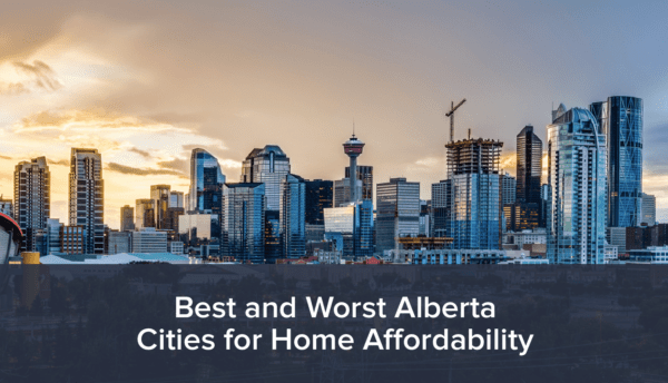 Most Affordable Housing Markets in Alberta