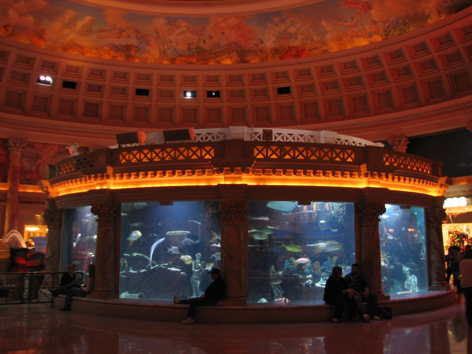Caesars Palace Las Vegas Aquarium