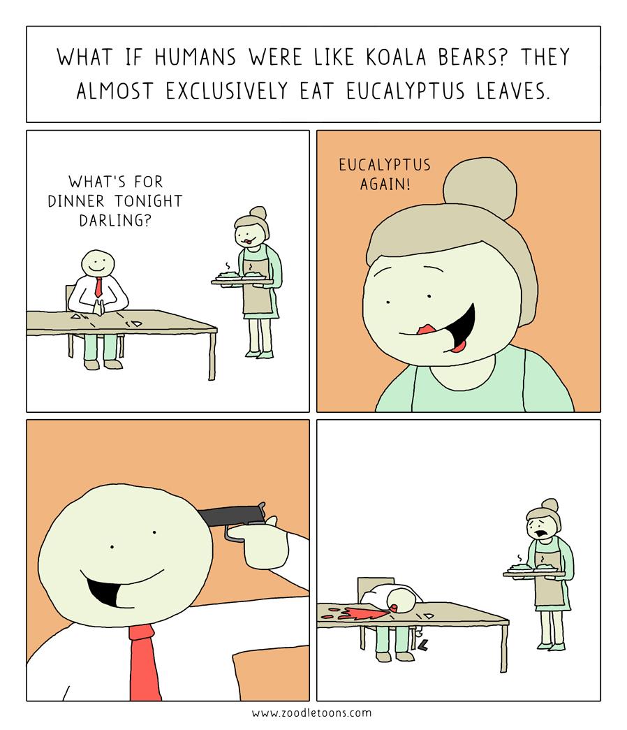 Eating Koalas