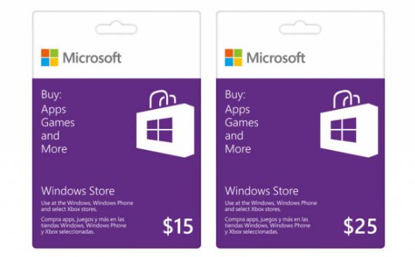 Buy Microsoft Windows Store Gift Card