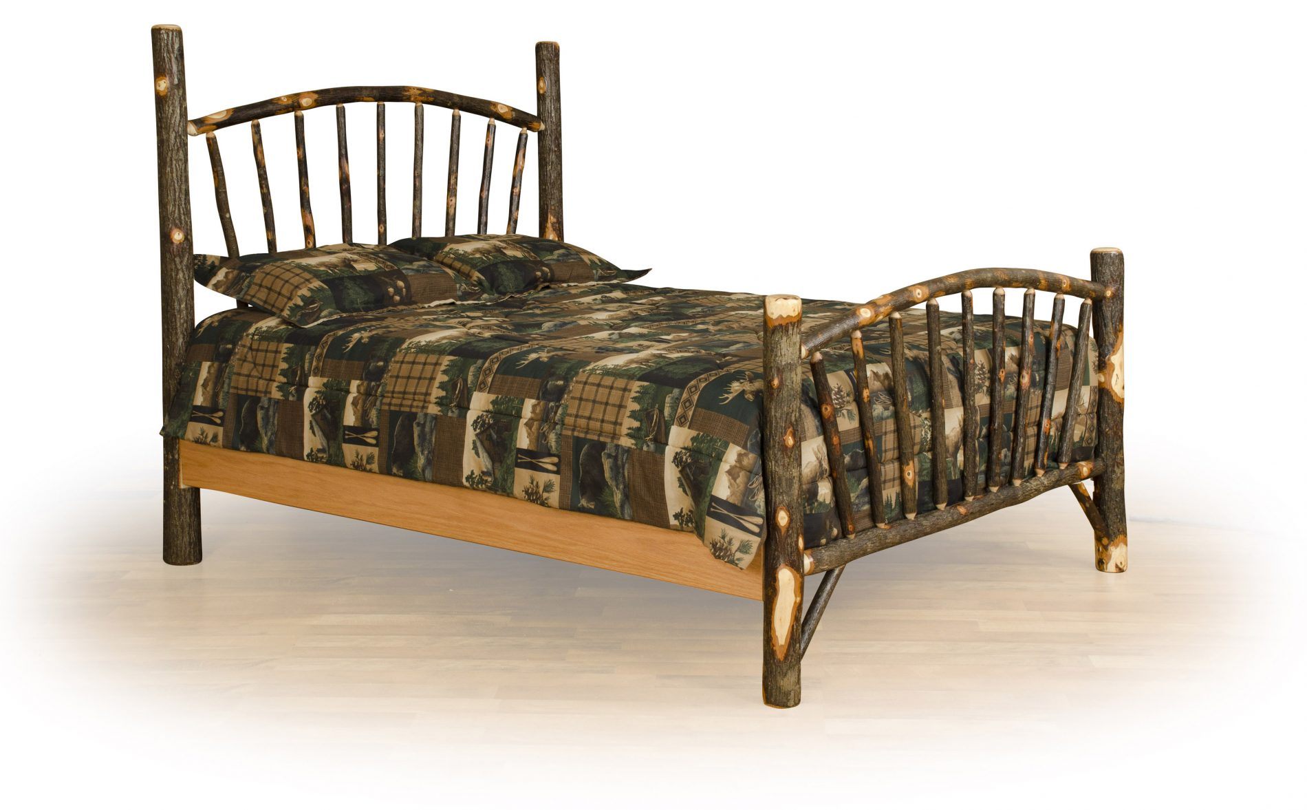 hickory chair furniture beds blue slipper bedroom rustic wood