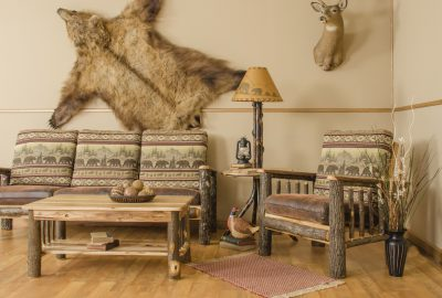 Cabin Furniture For Log Homes  Rustic Hickory Furniture