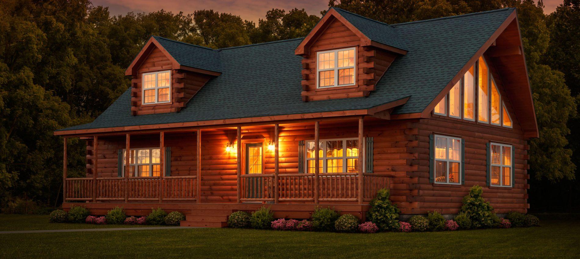 Log Cabins For Sale  Log Cabin Homes  Log Houses  Zook