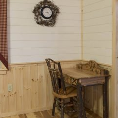 How To Build A Kitchen Island With Cabinets Cedar Your Own Cabin Plans   Custom Made Log Cabins