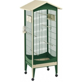 Клетка за птици FERPLAST CAGE BRIO MINI GREEN, 60,5x73,5xh160см