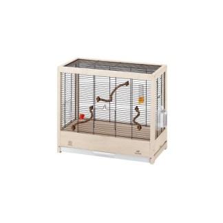 Дървена клетка за птици FERPLAST CAGE GIULIETTA 4, 57х30х50 см