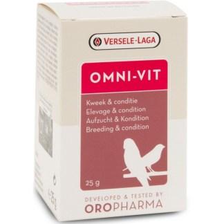 Комплекс от витамини за птици, аминокиселини и микроелементи за добра кондиция VERSELE LAGA OMNI-VIT, 200 g