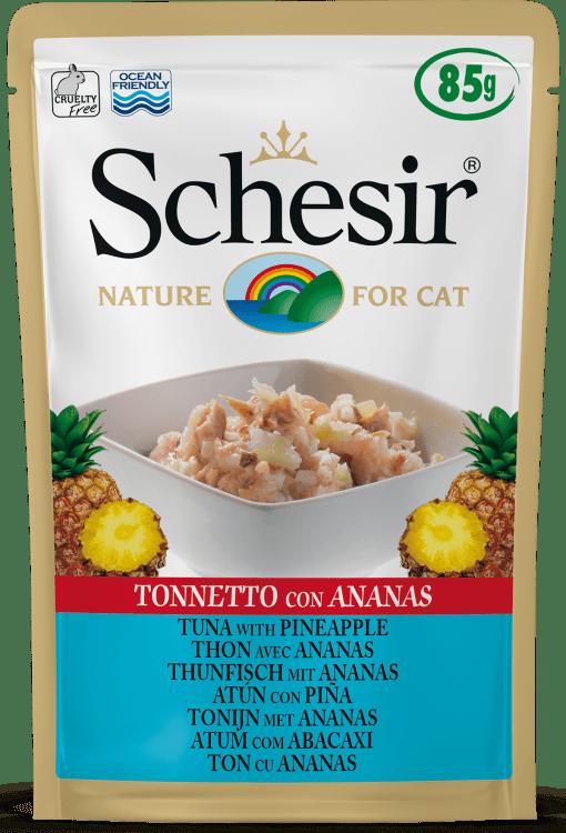 Schesir -Cat Busta Tonno con Ananas. 85gr