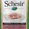 Schesir -Cat Busta Tonno con Affettato di Pollo. 85gr