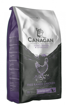 Canagan - Crocchette Gatto Light Senior Chicken. 1,5kg