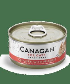 Canagan – Cat Chicken with Praws Pollo + Gamberi. 75Gr
