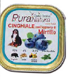 Pura Natura - Cinghiale Mirtilli. 150gr