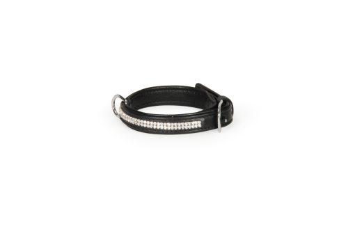 Camon - Collare Pelle Swarovski 15X300