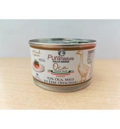 Pura Natura - Patè con oca e mele. 150gr