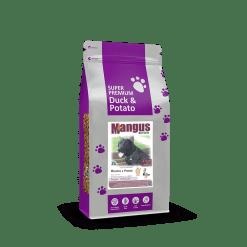 Mangus del Sole - Dog SuperPremium Grain Free Anatra Patata. 6kg