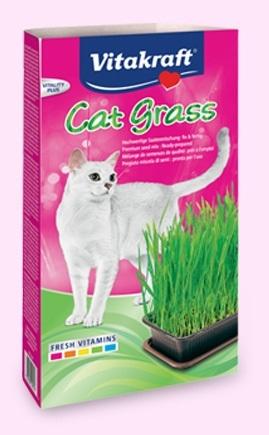 Vitakraft - Erba Gatta Cat Gras. 120gr