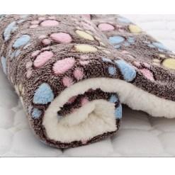 Morbido cuscino in flanella. Dim 91x70 cm