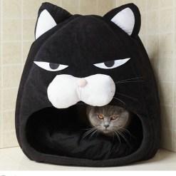 Cuccia Gatto per Gatti e Cani piccoli. 48x48x48 cm