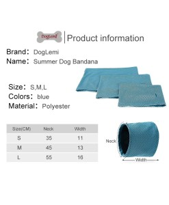 Bandana rinfrescante per Cani. Small
