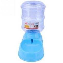 Ciotola distributore automatico di acqua. Azzurro 3,5 litri