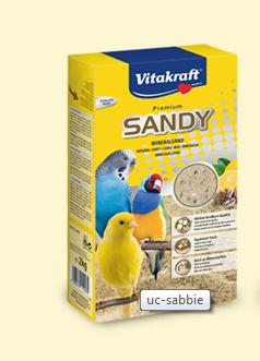 Vitakraft - Bird Sand. Sabbia integrata uccelli. 2,5kg