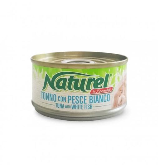 Naturel - Umido Tonno Pesce Bianco. 70gr