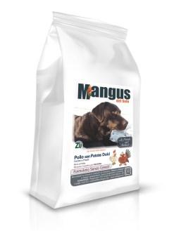 Mangus del Sole - Dog Grain Free Puppy Pollo Patata Dolce. 12kg
