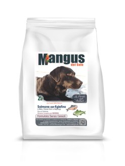Mangus del Sole - Dog Grain Free Puppy Salmone Patata Dolce. 2kg