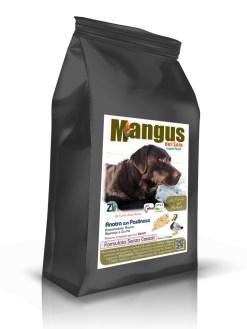 Mangus del Sole - Superfood Dog Grain Free Anatra allevata responsabilmente. 12kg