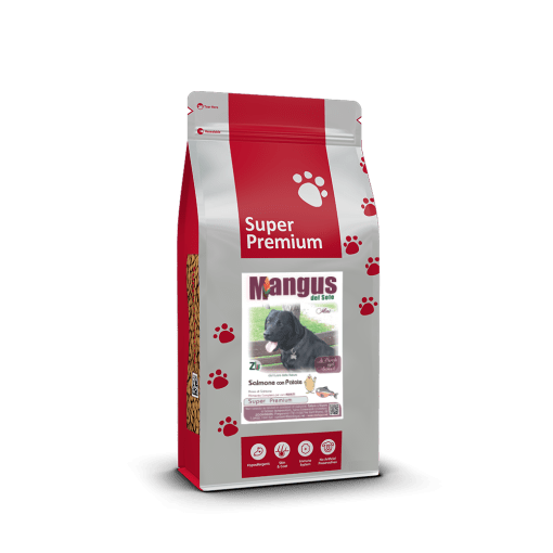 Mangus del Sole - Dog SuperPremium Small B. Salmone Patata. 6kg
