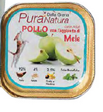 Pura Natura - Pollo Mele. 150gr