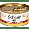 Schesir -Cat Fruit Pollo Ananas. 75gr