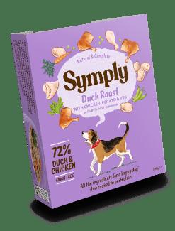 Symply - Anatra con Patata Dolce e Verdure. 395gr