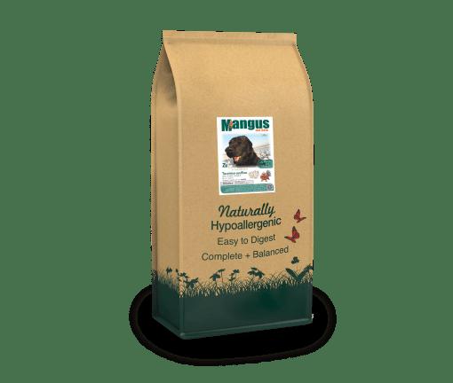 Mangus del Sole - Dog Hypoallergenic Monoproteico Senior Light Tacchino Riso. 2kg