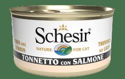 Schesir -Cat Tonno e Salmone. 85gr