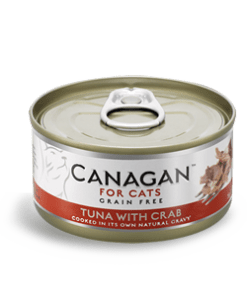 Canagan – Cat Tuna with Crab Tonno + Granchio. 85Gr