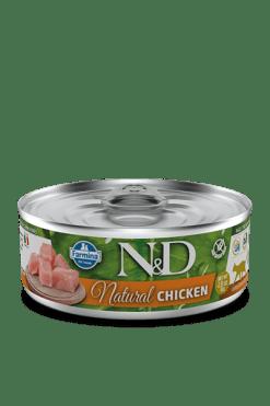 Farmina - N&D Umido Cat Natural Pollo. 80gr
