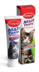 Sanal - Pasta gatti anti bolli di pelo. 20gr