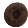Cuccia Cianbella cuscino soffice in cotone. Marron scuro diam 80cm